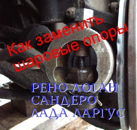 Замена рулевых тяг на рено логан