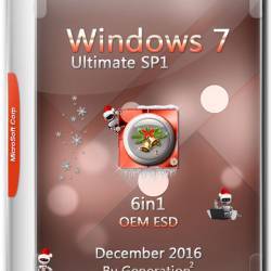 Windows 7 Ultimate SP1 x86/x64 OEM ESD Dec2016 by Generation2 (MULTi-7/RUS)