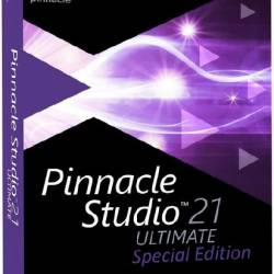 Pinnacle Studio Ultimate 21.1.0.132 Special Edition + Content Pack