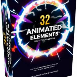 GraphicRiver - 32 Animated Effects Action