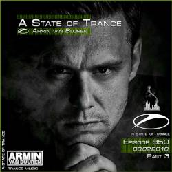 Armin van Buuren - A State of Trance 850 Part3 (08.02.2018)