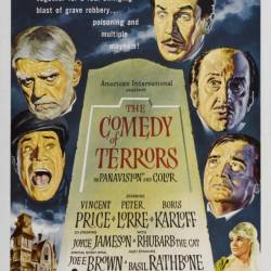 Комедия ужасов / The Comedy of Terrors (1963) DVDRip - Комедия, Ужасы