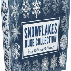 Creative Market - Snowflakes Collection. Vector - 2084969