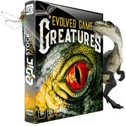 Epic Stock Media - Evolved Game Creatures – Monster Sounds