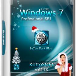 Windows 7 Professional SP1 x64 v.62.16 KottoSOFT (RUS/2016)