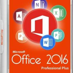 Microsoft Office 2016 Pro Plus + Visio Pro + Project Pro 16.0.4498.1000 VL RePack by SPecialist v17.4 (Rus)
