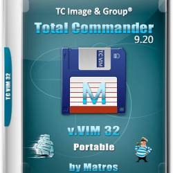Total Commander 9.20 v.VIM 32 Portable by Matros (RUS/2018)