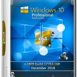 Windows 10 Pro x64 RS5 v.1809 ESD Dec 2018 by Generation2 (MULTi7/RUS)