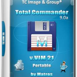 Total Commander 9.0a v.VIM 21 Portable by Matros (RUS/2017)