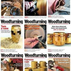 Подшивка журнала - Woodturning №314-326 (January 2018 - December 2018) PDF. Архив 2018