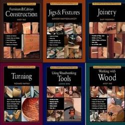 Taunton's The Complete Illustrated Guide Collection to Woodworking - Серия из 14 книг (2001-2011) PDF